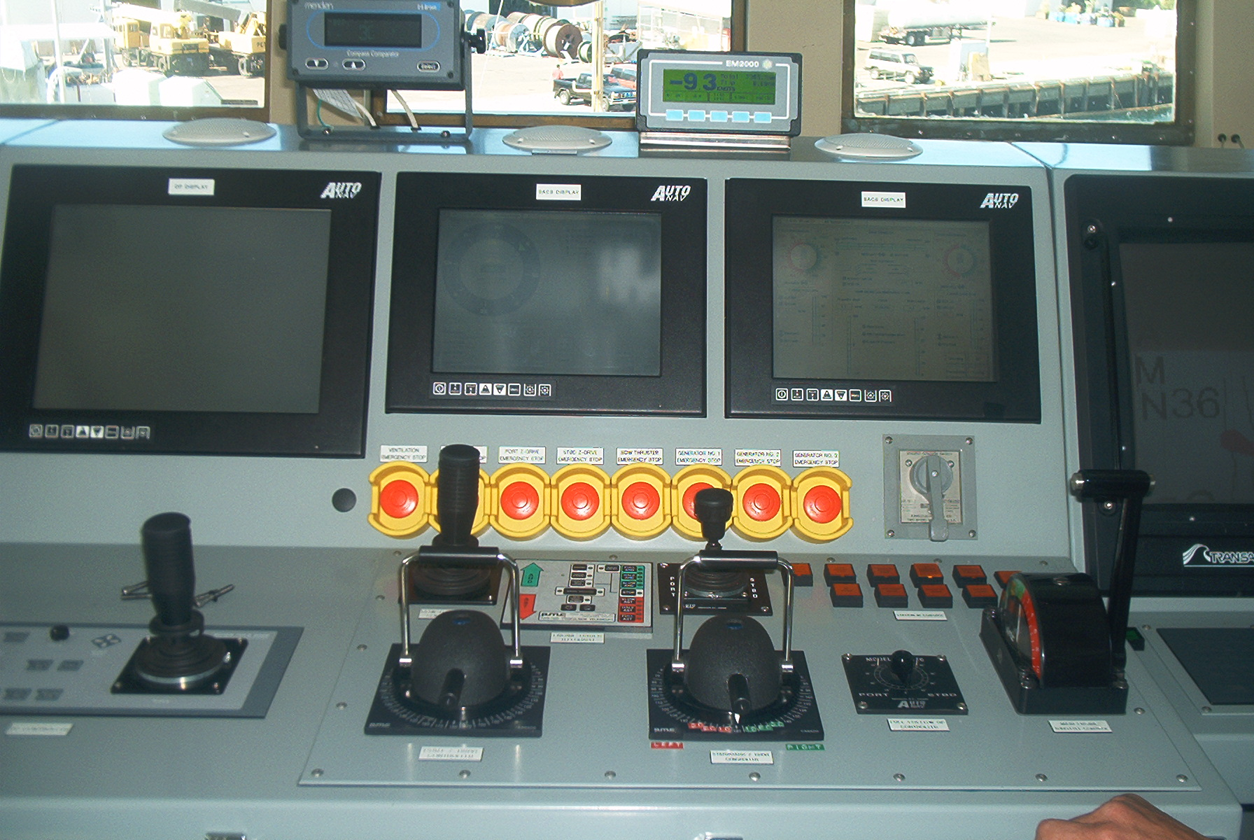 Steering Consoles