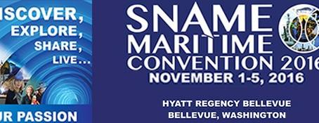 SNAME Conference, Bellevue, Washington 2016