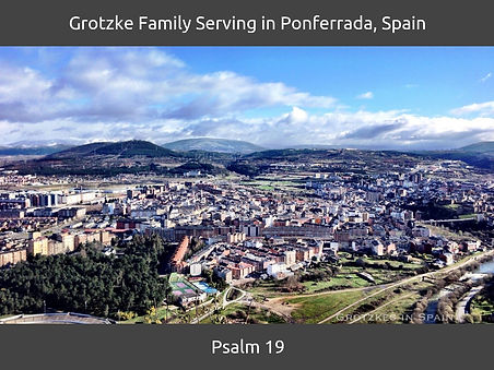 Grotzke Family Serving in Ponferrada, Sp