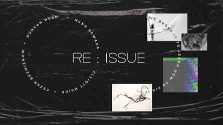Re ISSUE : We Broke It to Learn How to Fix It