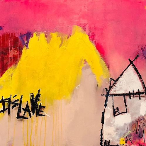 """It's La Vie"" 24x24 acrylic on canvas"