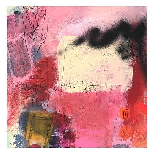 """""""Elle est belle la Passion"""" 24x24 acrylic on canvas"""