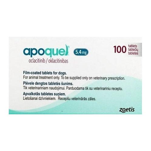Apoquel 5.4 mg 100 tabletas