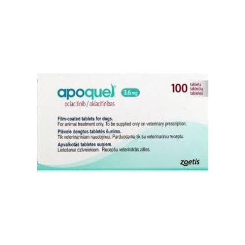 Apoquel 3.6 mg 100 tabletas