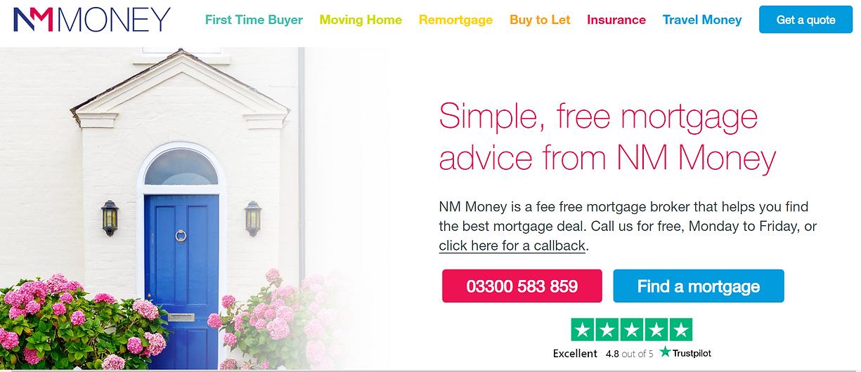 NM Money website screenshot