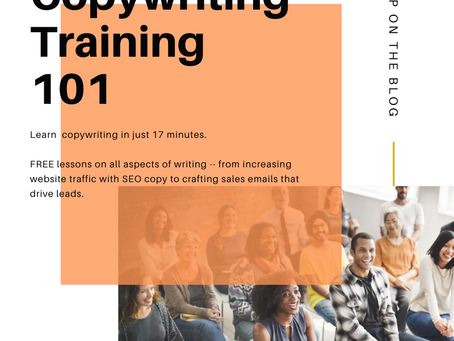 Copywriting Training 101: How To Write Great Content