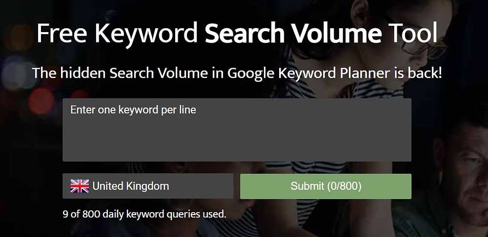 Blog Ideas -- SEO Keyword Tool