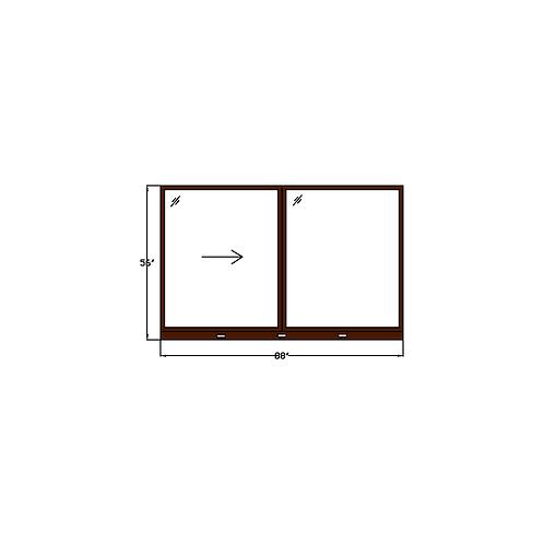 """Skyline Square W3 Sliding Window - 88"""" x 56"""""""