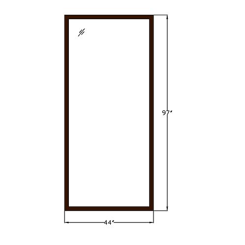 """Montebello PW1 Fixed Picture Window - 44"""" x 97"""""""