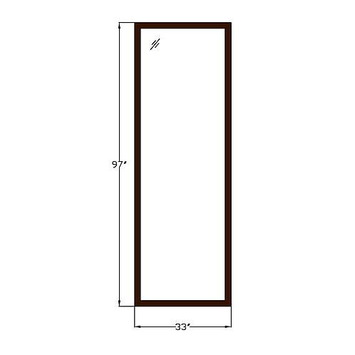 """Montebello PW2 Fixed Picture Window - 33"""" x 97"""""""