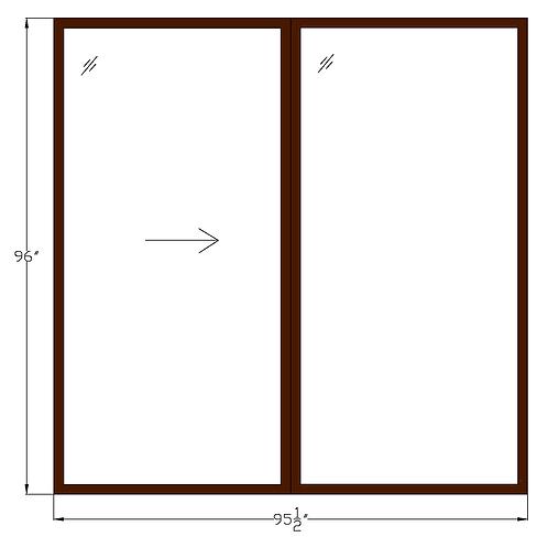 """Regency of McLean PD1 Sliding Glass Door - 95-1/2"""" x 96"""""""