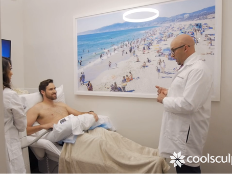 Men Are Turning to CoolSculpting® to Get Rid of Stubborn Belly Fat!