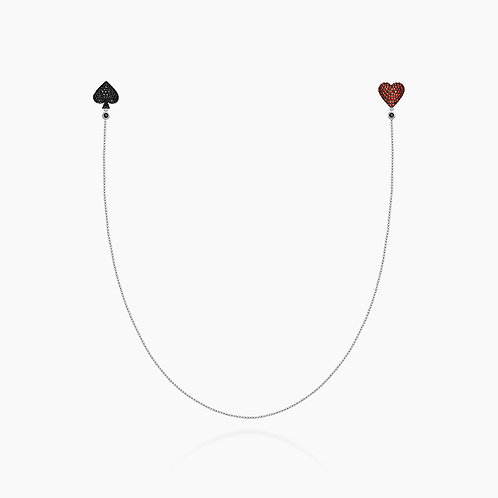The Spade & Heart Earlace