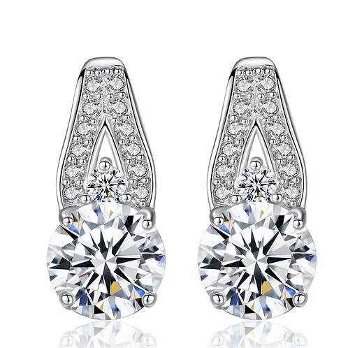 Spanish Royal Hearts & Arrows Drop Earrings
