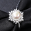 Thumbnail: Perfect Snow Flake, 8mm Large Pearl