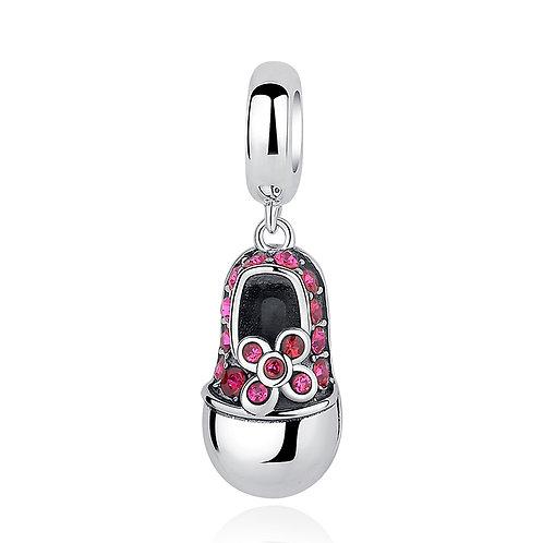 Converse Shoe Pendant, Silver Charm