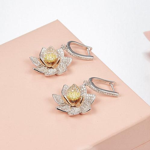 Floral Eternity Earrings IV