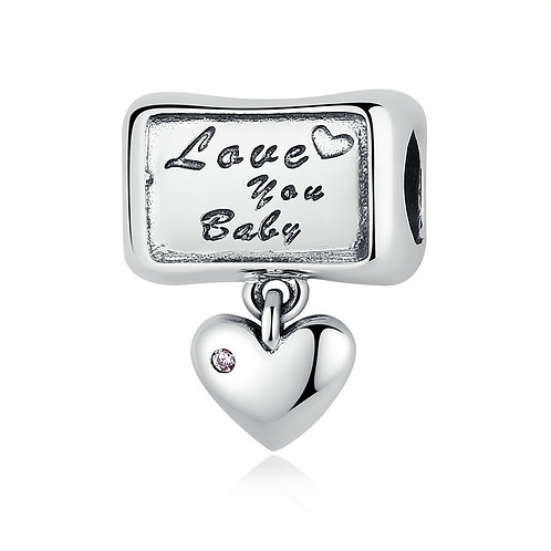 """Love you baby"" Promise, Silver Charm"