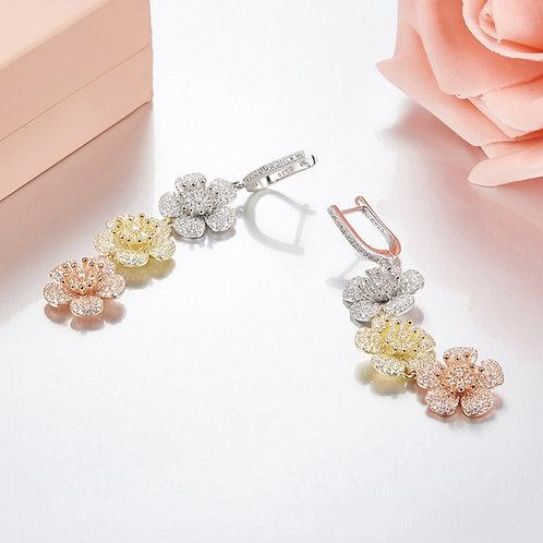 Floral Eternity Earrings V