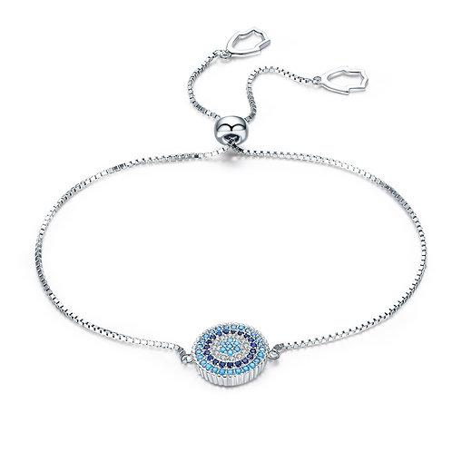 Pave Lucky Round Bracelet
