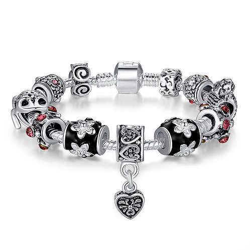 Voodoo Inspired Charm Bracelet