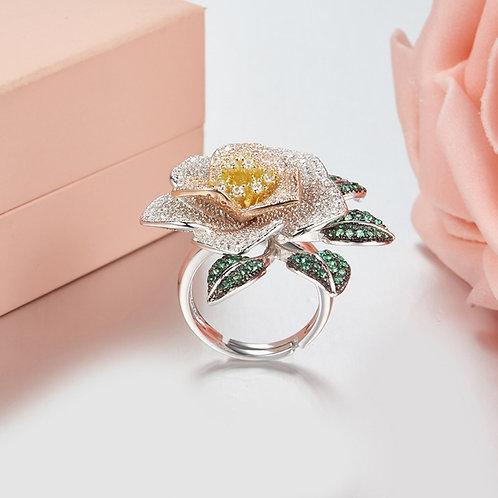 Floral Eternity Ring II