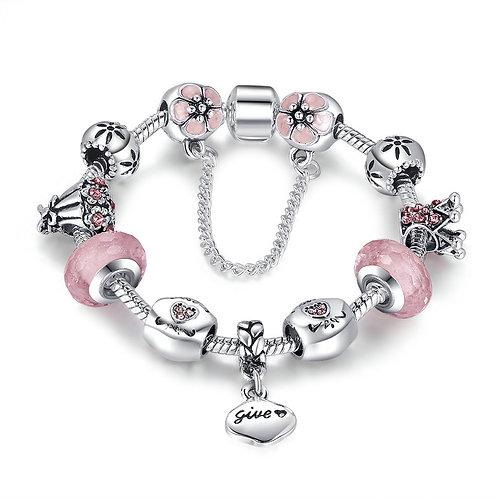 For My Sweet Princess Charm Bracelet