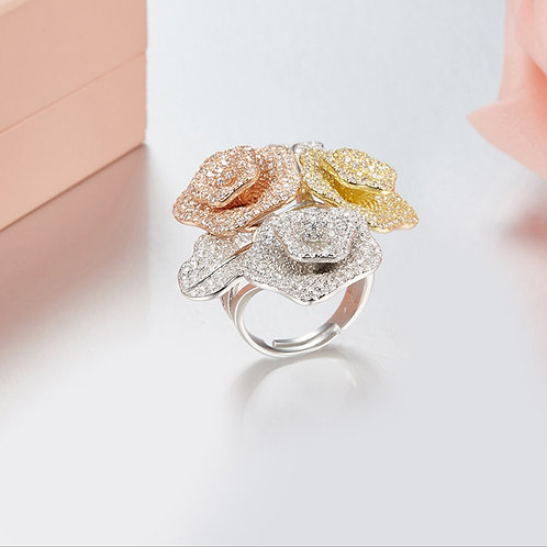 Floral Eternity Ring XII