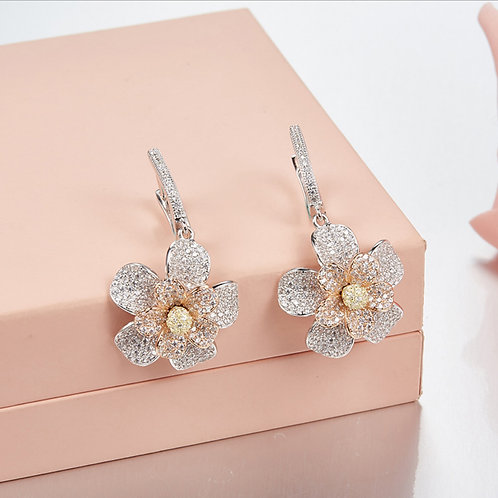 Floral Eternity Earrings II