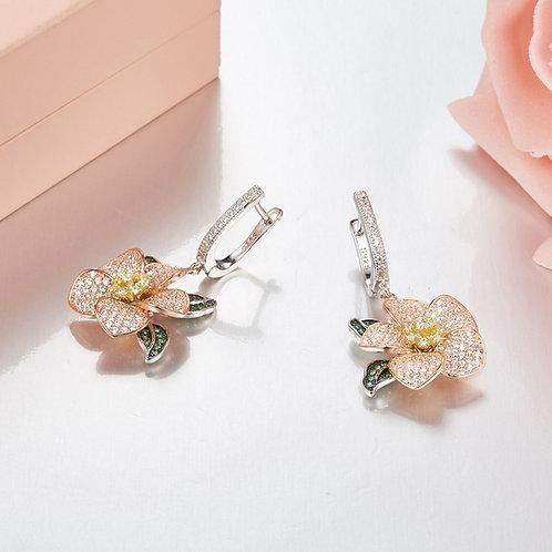 Floral Eternity Earrings I