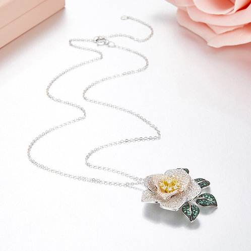 Floral Eternity Necklace I