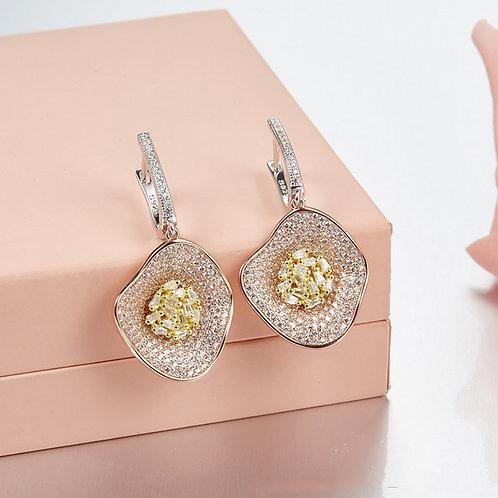 Floral Eternity Earrings VI