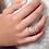 Thumbnail: Pink Silver Tri-Layer Ring