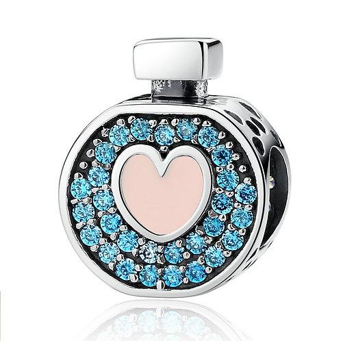 Perfume No.1, Pave Silver Charm