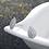 Thumbnail: Halo Teardrop Sterling Silver Earring Studs
