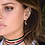 Thumbnail: Asymmetric Yellow Silver Earring Set With T-Rexy