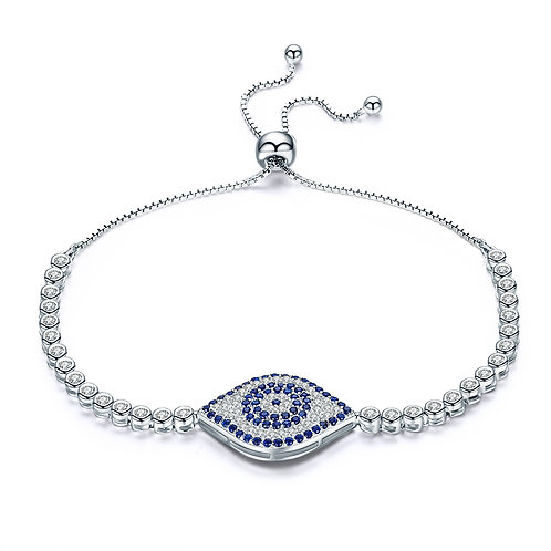 Pave Lucky Eye Bracelet