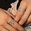 Thumbnail: Silver Green Kaa Ring