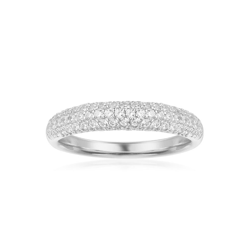Courchevel Paved 5-Row Dome Ring
