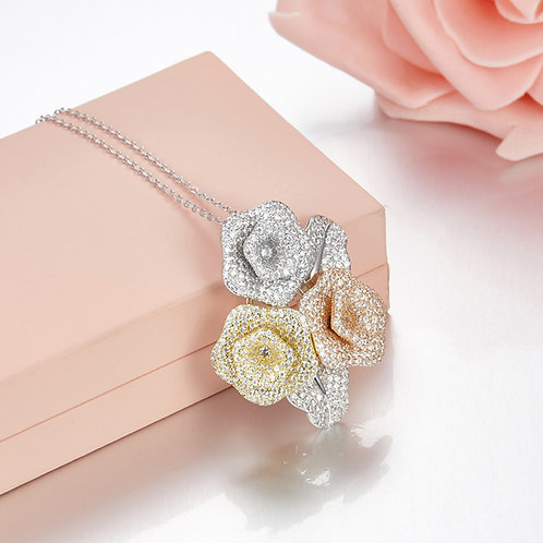 Floral Eternity Necklace V