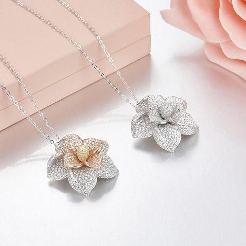 Floral Eternity Necklace IV