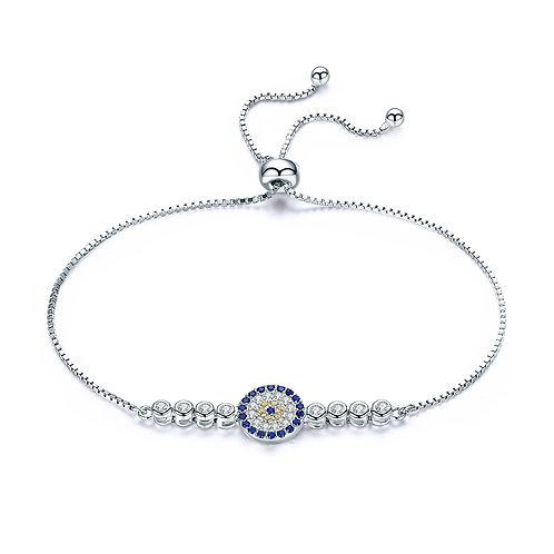 Pave Sum Mark Round Bracelet