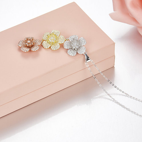 Floral Eternity Necklace III