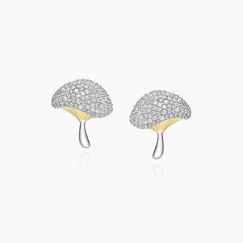 Wonderland Mushroom Earrings