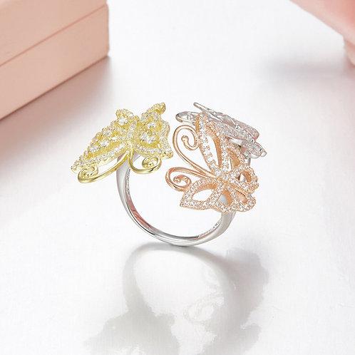 Floral Eternity Ring VIII