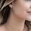 Thumbnail: Double Meteorites Stud Earrings