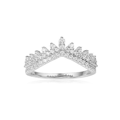 Dentelle Silver Ring