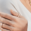 Thumbnail: Two-Layers Silver Ring