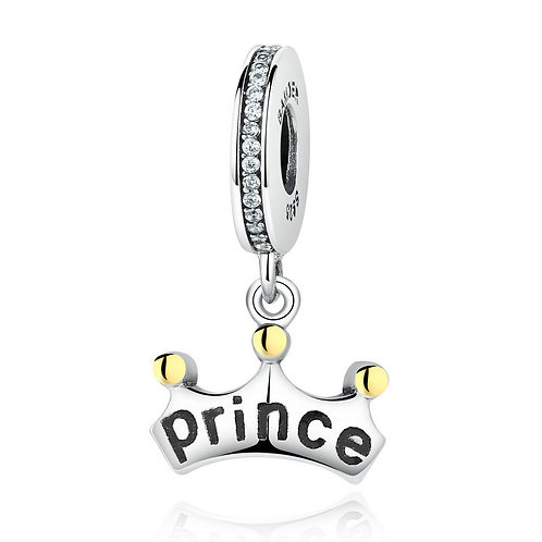 """""""You are my Princess"""" , Silver Pendant"""
