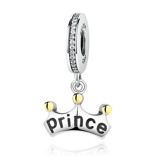 """You are my Prince"" , Silver Pendan"